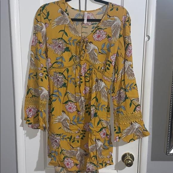Xhilaration Dresses & Skirts - Yellow Spring Dress